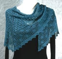 Feather light shawls a lace knitting pattern