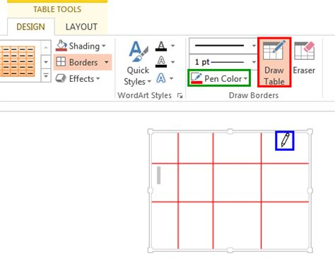 How To Change Active Cell Border Color In Excel 2013 Change Table Border Color