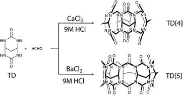 template directed synthesis template directed synthesis of cucurbituril analogues