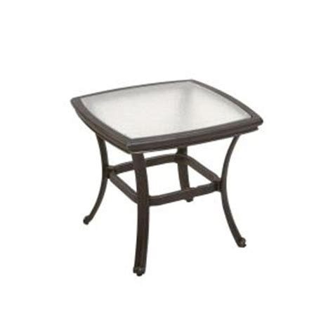 Martha Stewart Patio Table Martha Stewart Living Augusta 20 In Patio Side Table Discontinued 2 2323 43 6pg The Home Depot
