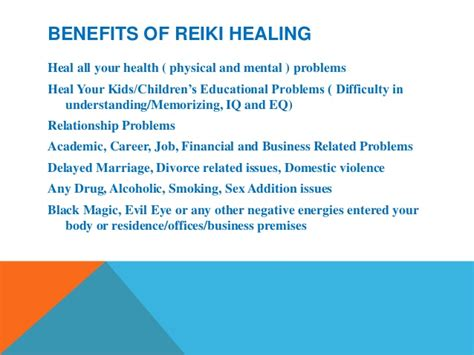 8 Benefits Of Reiki by Heal Your Problems Challenges Through Reiki And