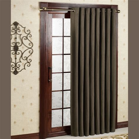 blackout patio curtains canvas blackout grommet patio panels