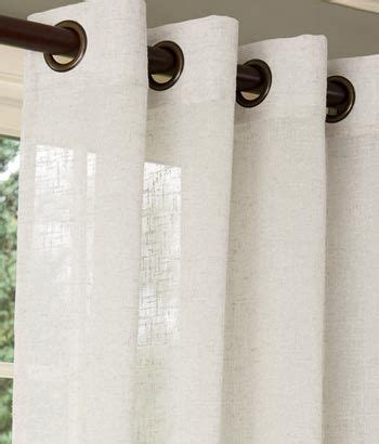 white linen grommet curtains 1000 ideas about white linen curtains on pinterest