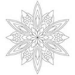 Kaleidoscope Coloring Pages  Art Pinterest sketch template