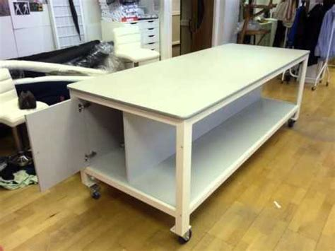 pattern making table pattern cutting tables youtube