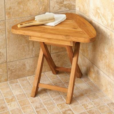 wooden shower stool nz teak corner bath stool from sportys preferred living