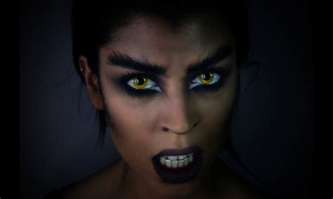 werewolf fangs tutorial werewolf makeup tutorial claire dim youtube