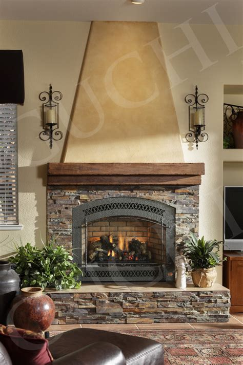 type of in fireplace surround