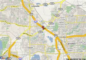 where is lewisville on the map map of garden inn dallas lewisville lewisville