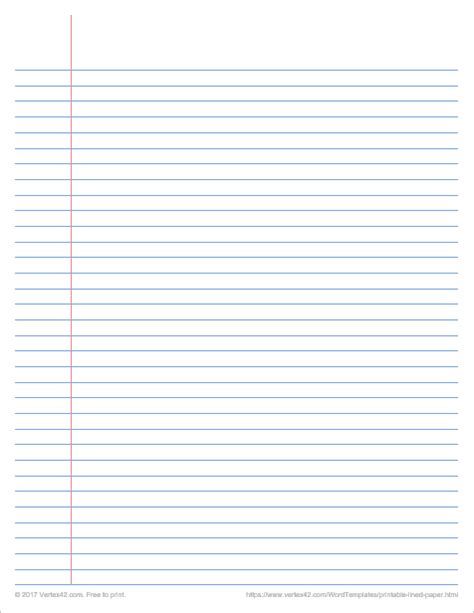 Lined Paper In Word - printable graph paper templates for word