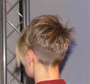 rear view black haircuts for black undercut rear view