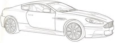 Aston Martin Coloring Pages Free Coloring Pages