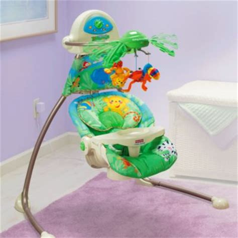 fisher price rainforest swing away mobile ᐅ best baby swings reviews compare now