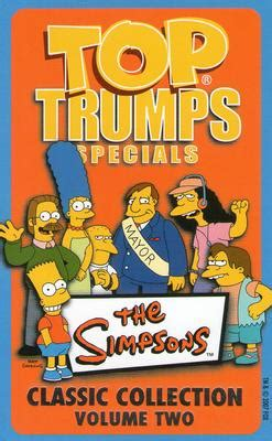 classic collection volume 2 2007 top trumps specials the simpsons classic collection volume 2 non sport gallery the