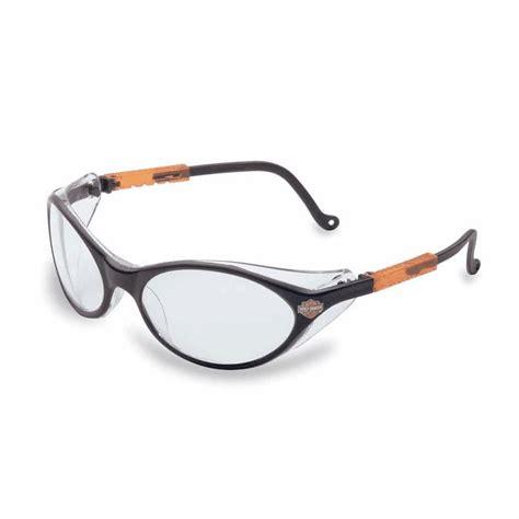 Harley Davidson Glasses by Harley Davidson Safety Glasses Hd100 Clear Lens Black