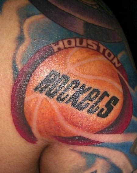 houston texas tattoos houston rockets by joey rodriguez tattoonow
