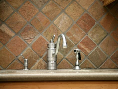 Slate Kitchen Backsplash | slate backsplashes pictures ideas tips from hgtv hgtv