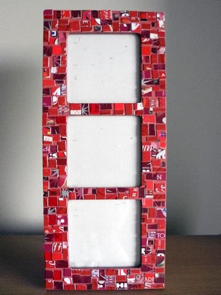 Gift Card Frame - handmade gift card mosaic picture frame true blood