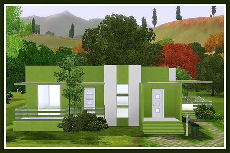 membuat rumah the sims 4 fianzoner design rumah minimalis the sims 3