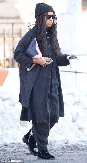 what style should a 27 year old have zoe kravitz admits her designer friends beg her to brush