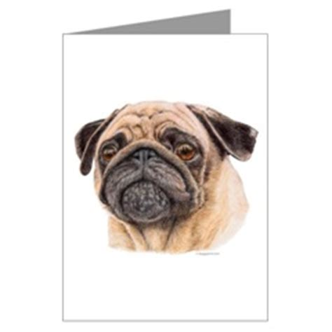 pug studying pugs dogbreed gifts pug greeting cards notecards