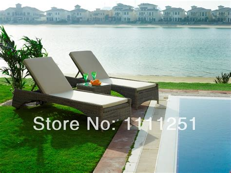 2014 swimming pool outdoor furniture sulana sunbed lounge
