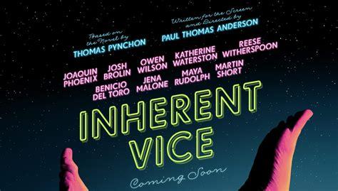 inherent vice inherent vice teaser trailer poster