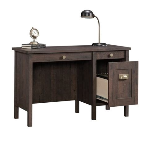 Home Office Desk Oak Home Office Desk In Coffee Oak 419128