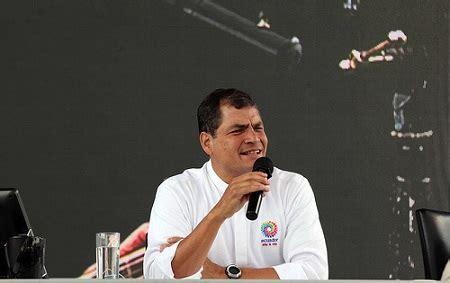 correa est 225 seguro de triunfo en eventual consulta popular sobre el yasun 237 el diario ecuador