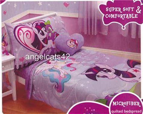 my little pony bed set my little pony 4 piece toddler bedding set ebay