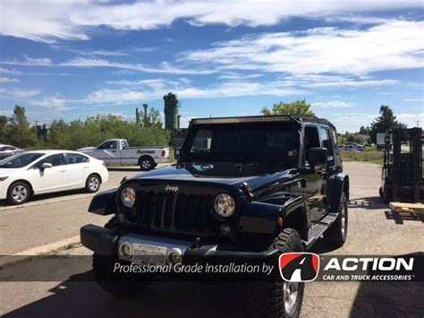 2016 jeep wrangler light bar 17 best images about our installs jeep wranglers on