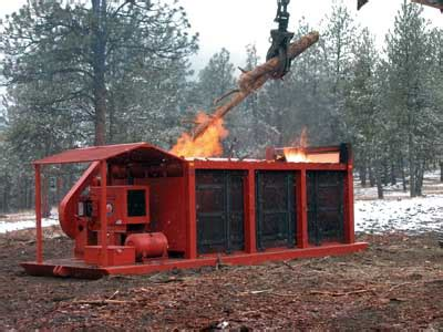 air curtain destructor reduce forest fuels with air curtain destructors