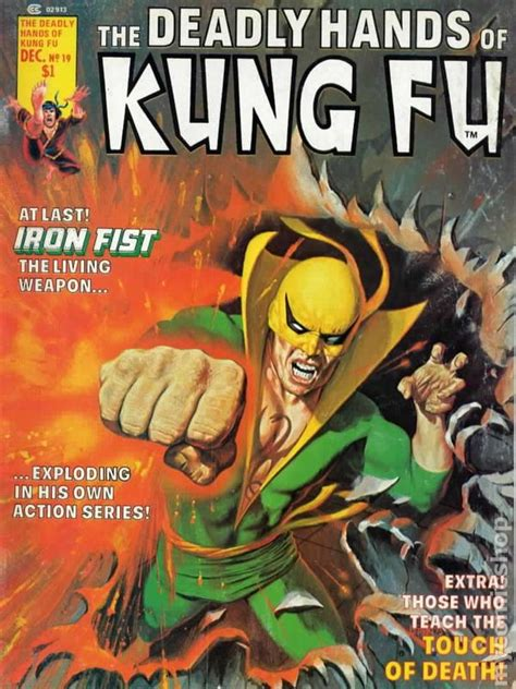 deadly hands of kung fu comic books issue 19