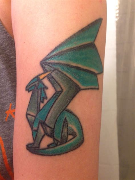 tattoo dragon original first tattoo spyro crystal dragon cj esparrago 24th