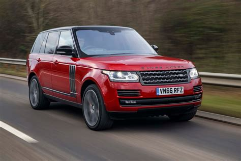 land rover autobiography red 2017 land rover range rover svautobiography dynamic first