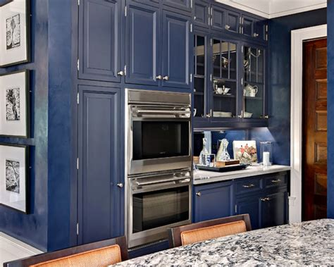 navy blue kitchen cabinets navy blue paint color ideas interior design