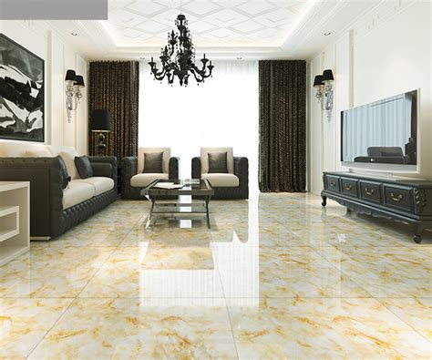Half Wall Tiles In Living Room The Royal Symphony Ceramic Tiles 800 800 Gold Microlite