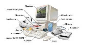 l ordinateur et ses constituants apprendre l