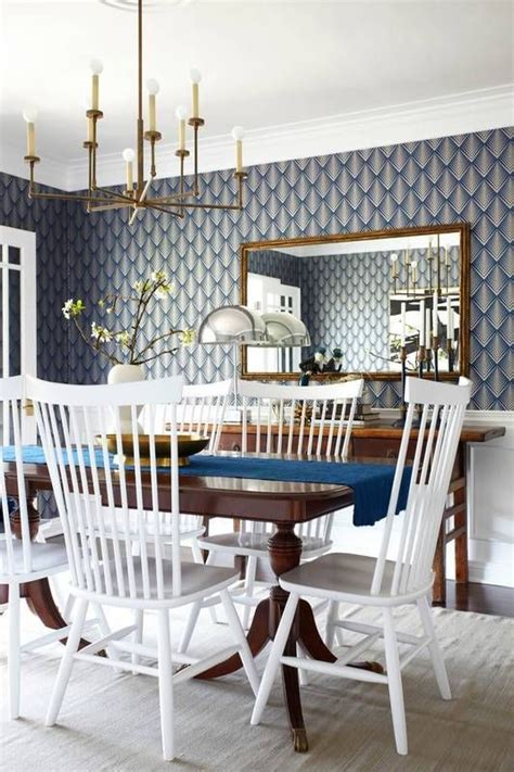 dining room wallpaper 25 amazing dining rooms with wallpaper
