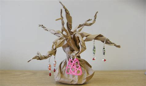 Paper Bag Tree Craft - paper bag tree display factory direct craft