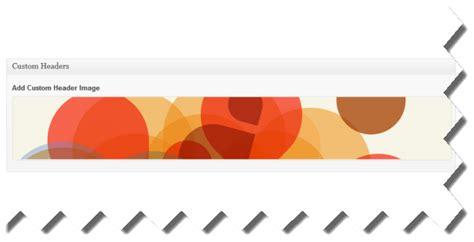 design custom header add unique header images using custom fields