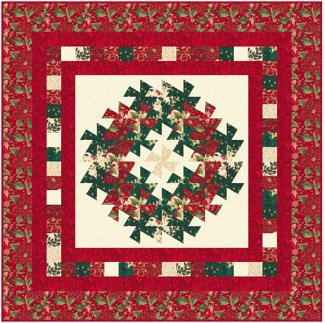 Quilt Pattern Wreath by Wreath Quilts