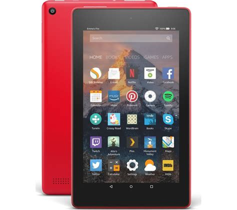 amazon fire 7 buy amazon fire 7 tablet with alexa 2017 8 gb punch