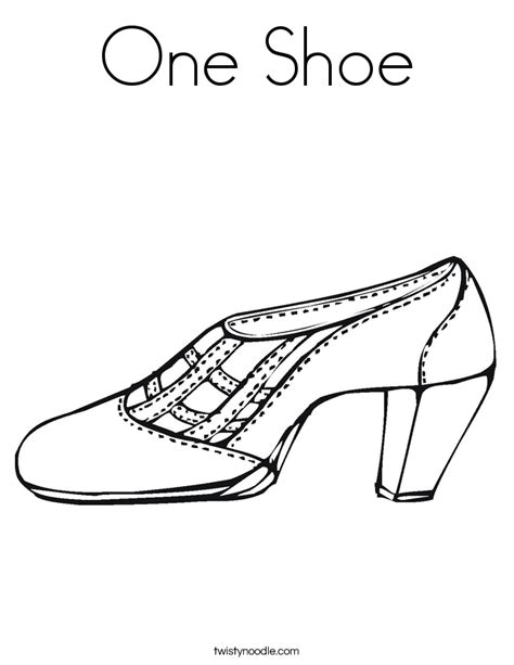 coloring pages of shoes shoes colouring pages clipart best