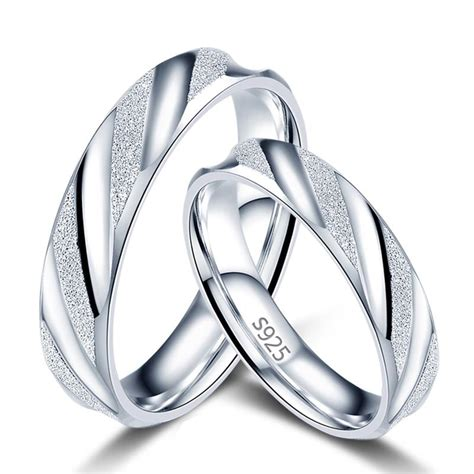 wedding bands couples couples wedding rings s925 silver engagement bands