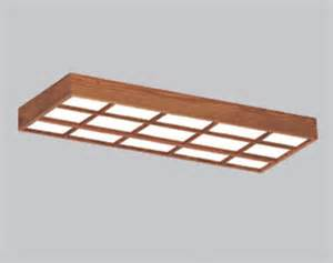Menards Fluorescent Light Fixtures American Fluorescent 49 1 8 Quot 4 Light T8 Oak Lattice Frame Fluorescent Ceiling Light