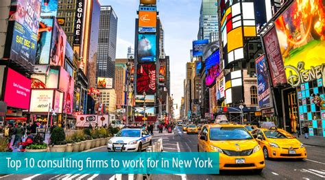 Mba Recruiting Nyc by The Top 10 Management Consulting Firms To Work For In New York