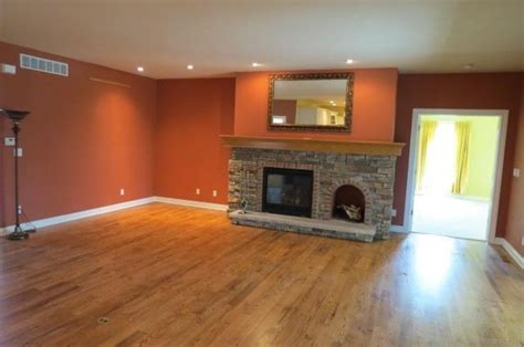 rust wall color for upstairs gameroom favorite places spaces pi