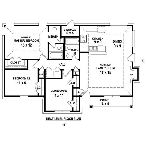 single story house plans without garage country house plans home design 170 1394 the plan collection