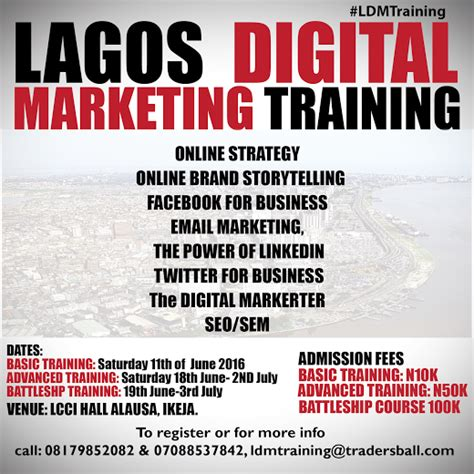 Courses On Marketing 5 by Lagos Digital Marketing Basic Advanced And